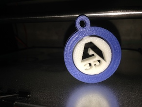 Llavero logo Createc 3D