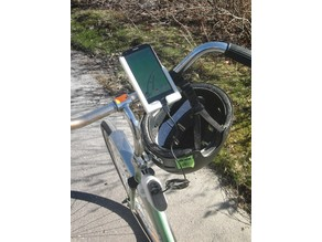 Asus PadFone 2 and Microsoft USB-battery bicycle mount