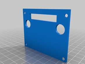 New back side for my case for Arduino Mega R3 and RAMPS 1.4