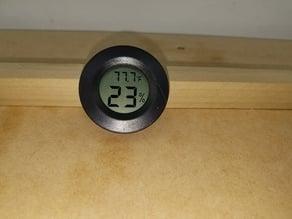 Hygrometer Mounting Holder