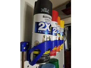 Spray Can Holder 4 PegBoard