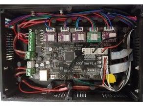 MKS Gen 1.4 Organized Wiring Case