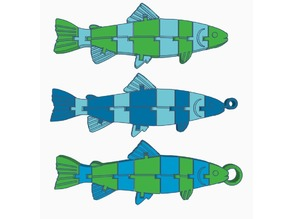 Articulated Fish (Dual Extrusion)