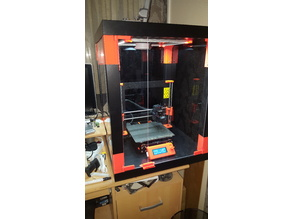 Prusa i3 MK3 MMU2 ENCLOSURE -Ikea Lack table