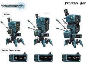 Wildstar Artillery Bot