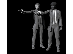 Pulp Fiction - Vincent Vega and Jules Winnfield