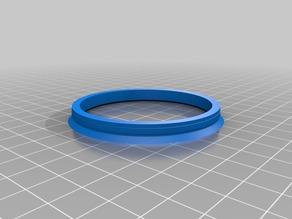 My Customized Wheel Rim Mount Center Ring