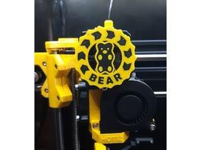 BiColor Bear Extruder Visualizer