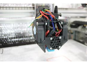 FT-5 Double 5015 Fang Part Cooler for E3D v6 + BondTech BMG + 713Maker Standard Carriage