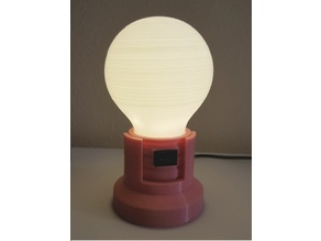 LED Light Bulb Stand (Series of 3-3)