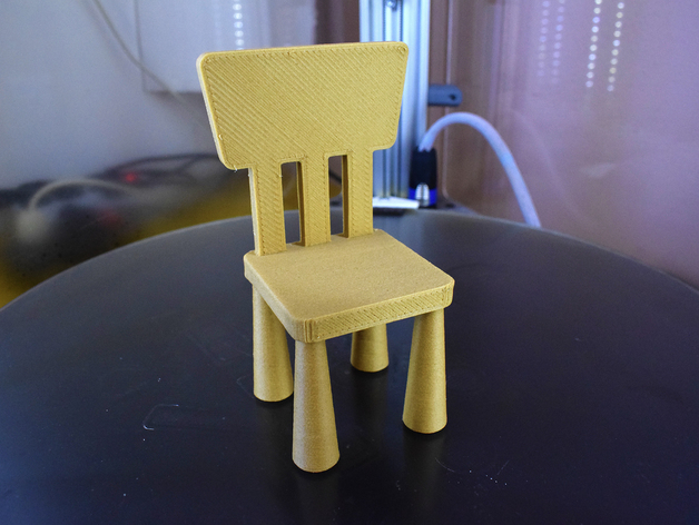 Ikea Wooden Chair Mammut By Hexhyte Thingiverse