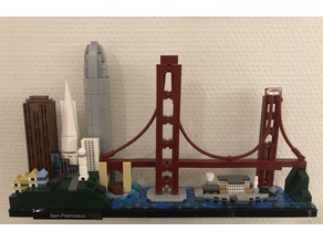 Lego Architecture holder