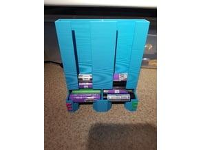 Dual stack 18650 holder