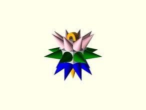 Mace Ornament