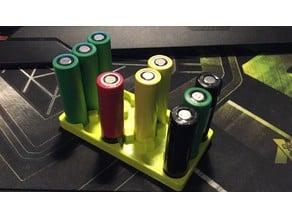 18650 Battery Tray 6x3