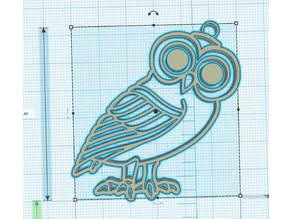 Antique owl - Chouette Antique