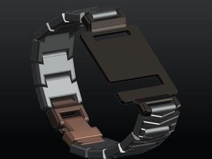 Jaipnab - Just another iPod Nano (G6) Arm Bracelet