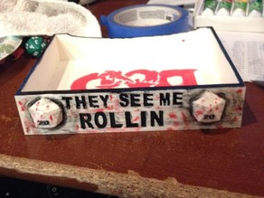 Custom DnD dice tray