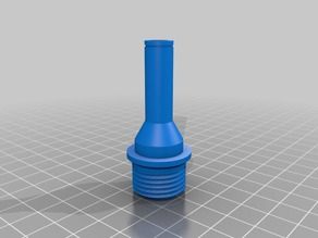 Showerhead to 7mm tube adapter