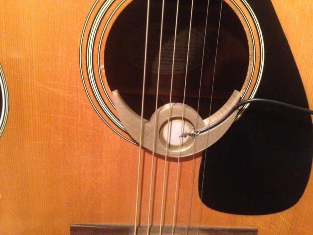 Piezo Pickup Gitar : piezo pickup for acoustic guitar by tvollaro thingiverse ~ Russianpoet.info Haus und Dekorationen