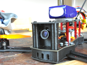 ZMR 250 Elgae 10degree camera mount