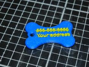 Simple Pet tag
