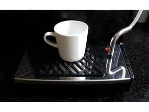 Anti slip mat for coffee machine