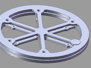 Lazy Susan turntable bearing
