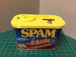 Spam-A-Lam-A-Ding-Dong Pi Zero case