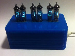 IV-3 Tube clock case