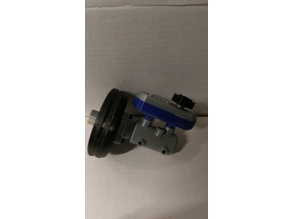 Brake booster whit cylinder and tank