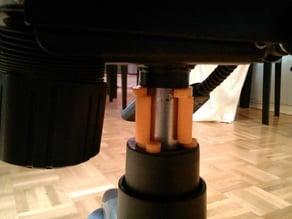 Office chair pneumatic cylinder fix clip