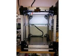 "ROB-O Junior FFF 3D Printer using 80/20s 10/10 (1""x1"") extrusion"