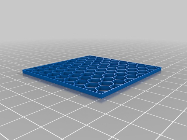 Customizable Hex Grid Pattern By Dvogonen Thingiverse