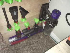 Dyson v10 and Accessory Wall Mounts