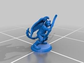 Wyvaran Ranger Miniature