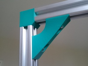 Angle bracket (90deg) extrusion aluminium 20x20 (2020)