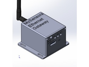 MySensors ethernet gateway case