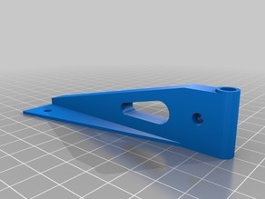Tailwheel steering bracket for Large scale RC Planes