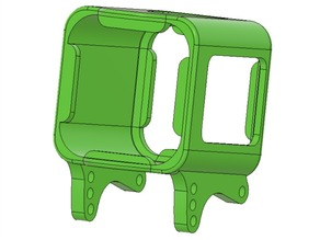 GoPro Session 5 adjustable pod for CrissCrossFPV drone frames (read description!!!)