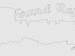 Grand Rapids skyline Egg