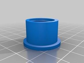 Silicone tube cap
