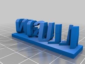 magic/illusion 3d sculpture
