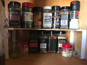Spice Rack/ Shelf Leg