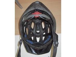 Bicycle helmet (Bell Ukon) coat rack peg hook