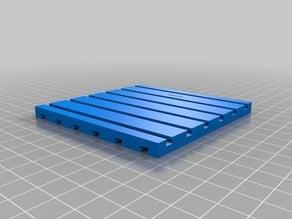construction plate similar fischertechnik