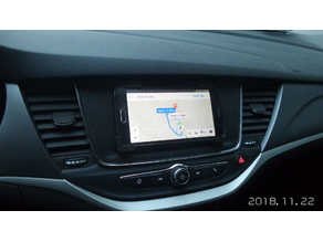 Opel Astra K display adapter phone