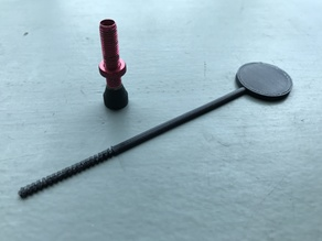 Tubeless sealant dipstick for bicycles