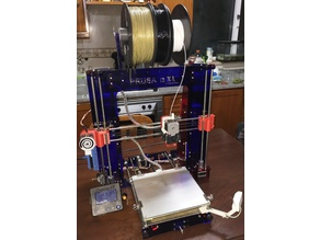 3d Printer based on Anet a8 and prusa MK2 XL