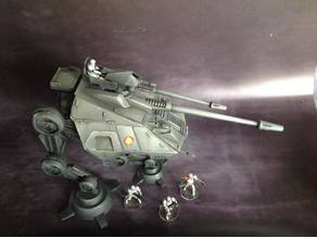 Star Wars legion scale AT-AP walker
